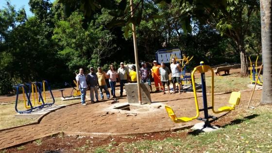 Praça do Bairro Ideal em Capinópolis ganha Academia ao Ar Livre