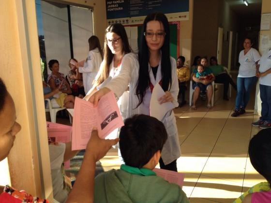 Residentes da UFU falam sobre câncer nos PSFs em Capinópolis