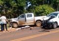 Acidente envolvendo três veículos próximo ao CEPET deixa feridos