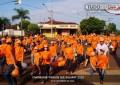 Capinópolis laranja durante a edição 2015 da