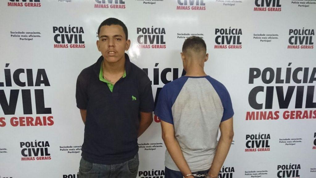 Maior foi preso e menor apreendido / Foto: PCMG