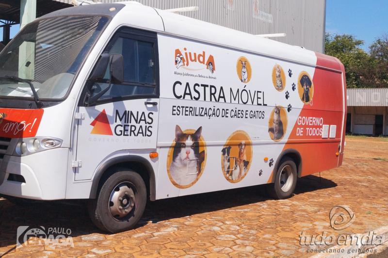 ônibus Castramóvel / Foto: Paulo Braga