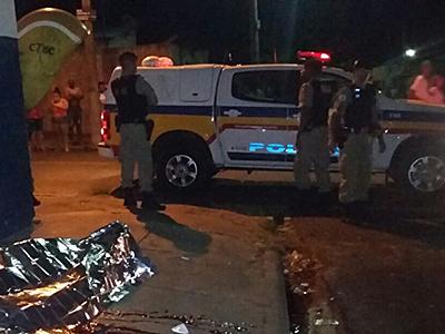 Jovem foi alvejado por cinco tiros / Foto: Jairo Chagas