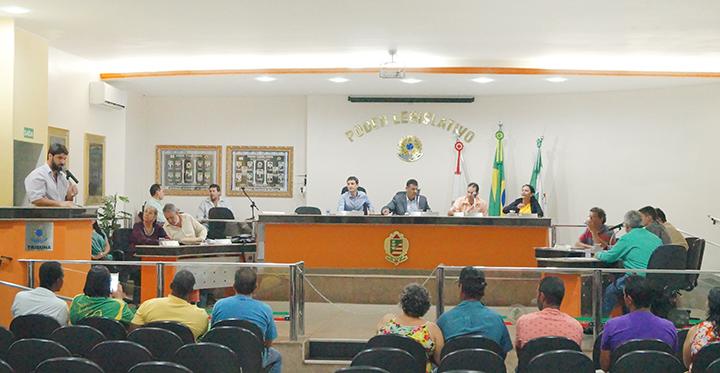 Câmara Municipal de Capinópolis / Foto: Paulo Braga