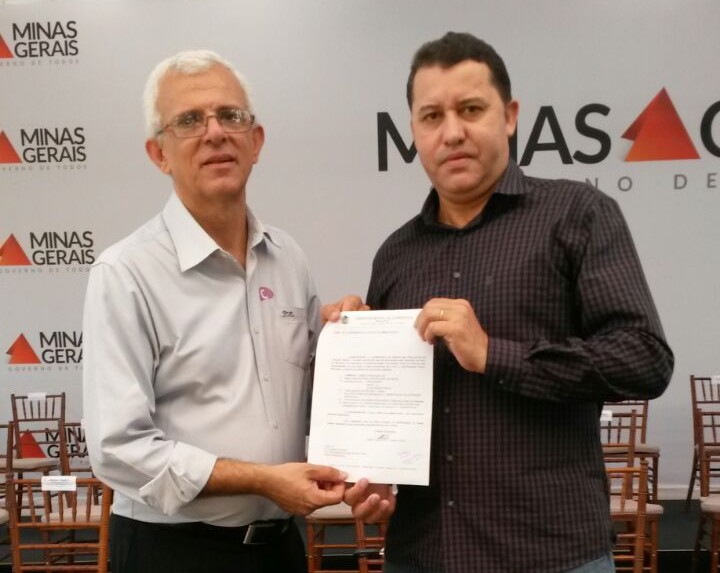 Fernando Tadeu Davi, secretário de estado de desenvolvimento integrado e Caetano Neto da Luz