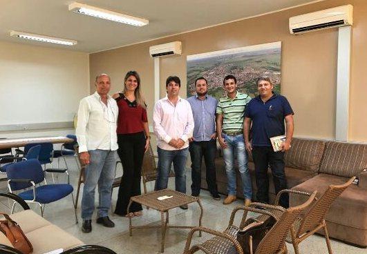 (Esq) João Moura, Gabriela Ceschim, Cleidimar, Francisco, Luciano Belchior e Jaisson Sílvio