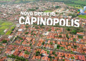 Covid-19: Novo decreto limita comércio de bebidas alcoólicas em Capinópolis CAPINOPOLIS AEREA DECRETO 350x250