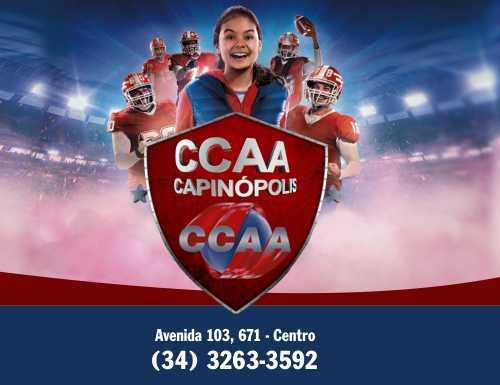 CCAA – Escola de línguas em Capinópolis