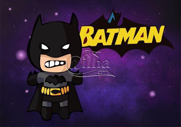 Arte Super Herói Batman em formato Corel Draw ( .cdr )