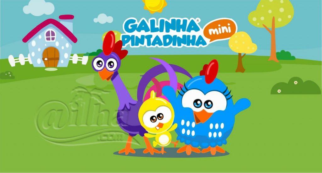 Arte de painel da Galinha Pintadinha Mini – Corel Draw ( .cdr ) e EPS