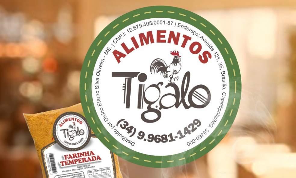 Alimentos 'TiGalo' – Farinha temperada, rapadura, tempero caseiro, queijos, legumes e verduras