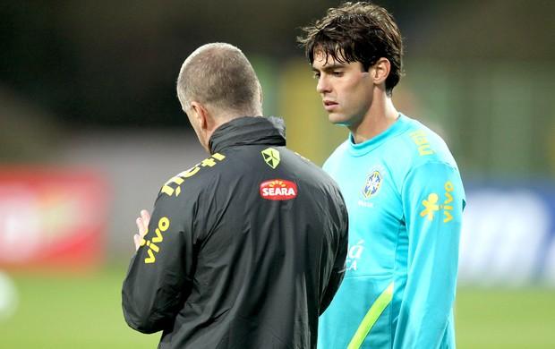 Kaká vai estrear na Seleção sob o comando de Mano Menezes (Foto: Mowa Press)