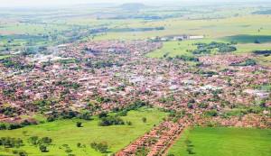divulgação | imagem aérea de Capinópolis