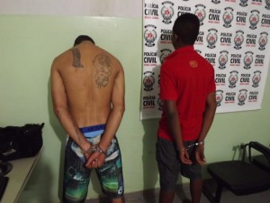 Parte da quadrilha presa - Foto: Polícia Civil | Pontal em Foco