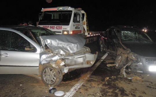 Grave acidente causado durante perseguição policial