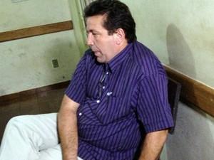 Pastor Roni Vieira foi detido suspeito de desviar  R$ 200 mil | (Foto: Vanessa Pires/G1)