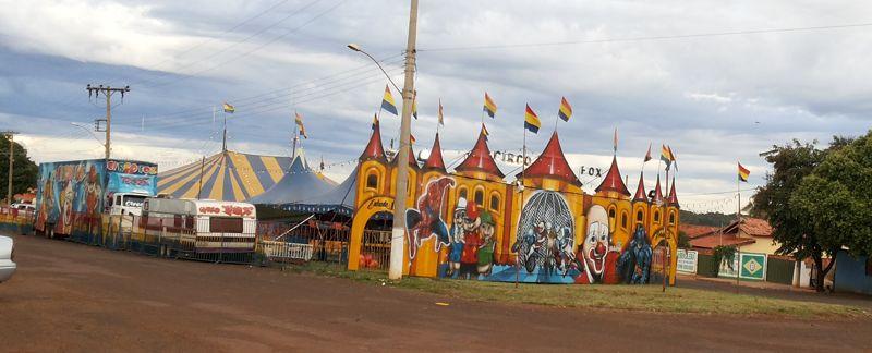 Circo Fox em Capinópolis