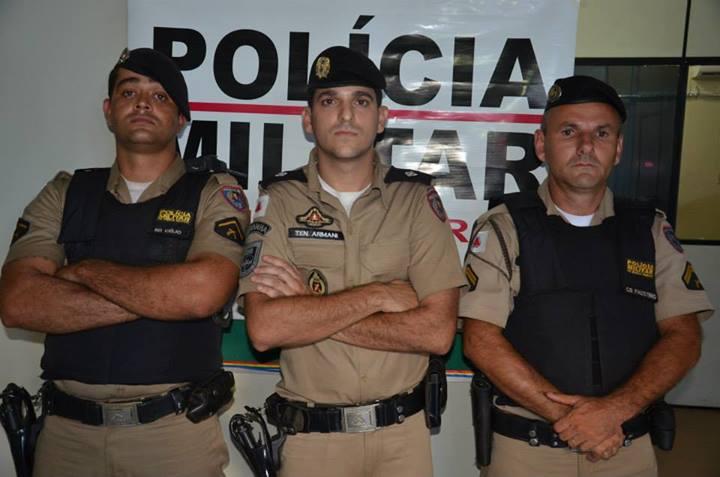 Policiais envolvidos na operação que resultou na prisão do ex-vereador