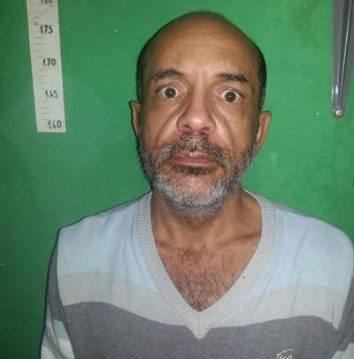 EURÍPEDES APARECIDO DA SILVA, suspeito de praticar crimes de uso de documento falso e estelionato em toda a região