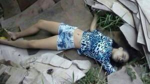 Garota de 14 anos foi morta com um tiro na cabeça
