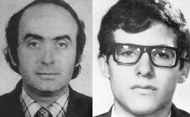 Vladimir Herzog e Alexandre Vannucchi, cujos atestados de óbito já foram retificados