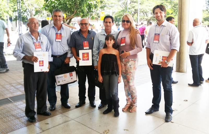 Rotarianos de Capinópolis participaram de curso de capacitação