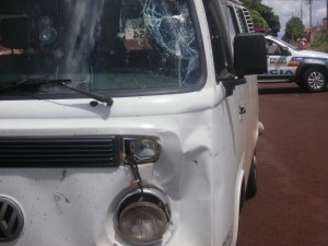 Glauciene Rosana Félix de 26 anos foi socorrida mas não resistiu aos ferimentos | Foto: Pontal em Foco