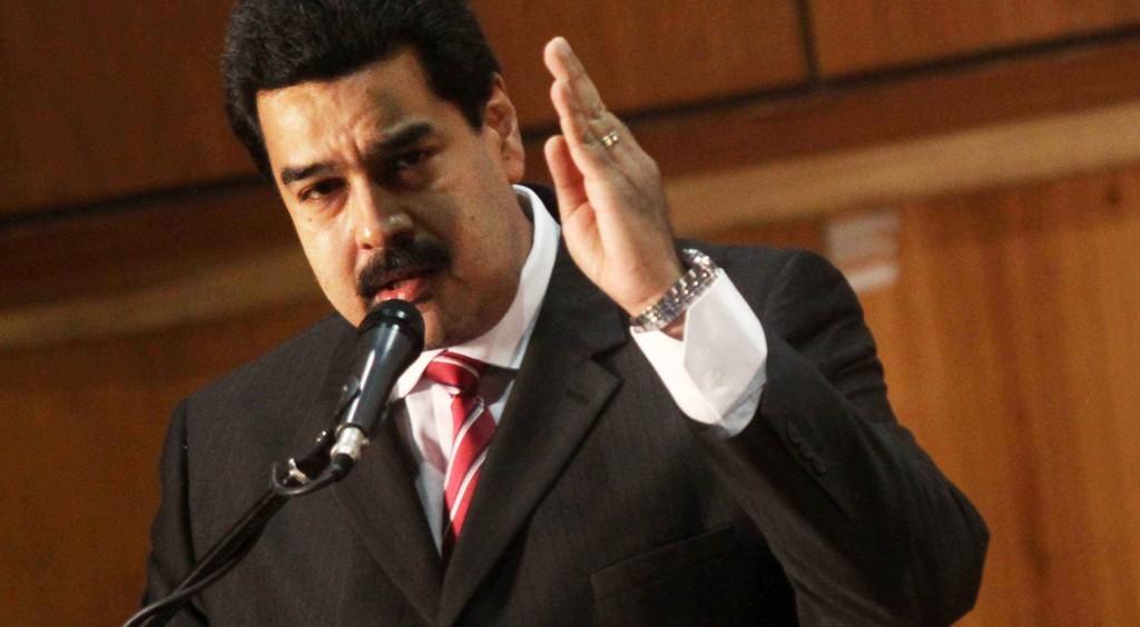 Nicolas Maduro / Veto seria retaliação à cobertura da crise; emissora brasileira planejava gravar próxima novela das 21h no país