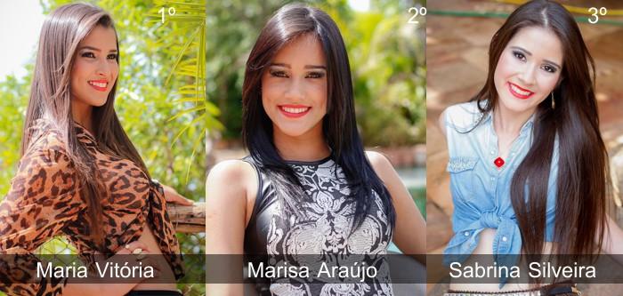"""Vencedoras do concurso """"Garota Expocap"""" / Foto: Fotoarte"""