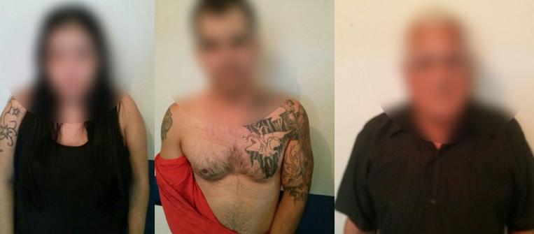 Três pessoas suspeitas de envolvimento com a criminalidade foram detidos