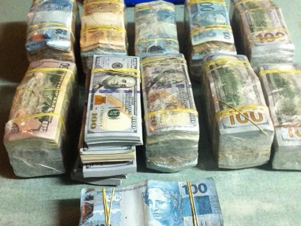 Drogas apreendidas na operação da Polícia Federal (Foto: Polícia Federal/Divulgação)