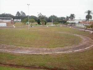 Área interna do parque