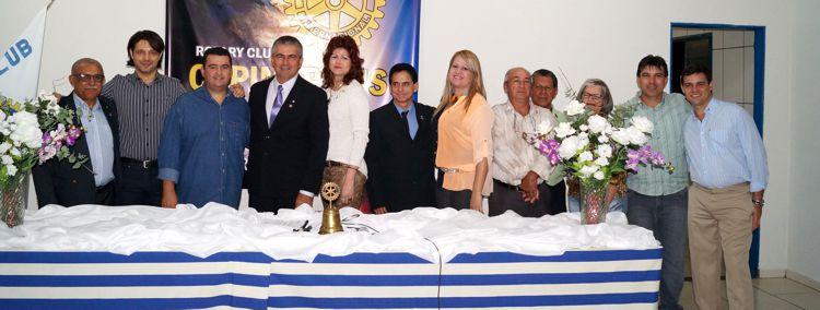 (esq) Lázaro, Paulo Braga, Giovani, Miguel, Conceição, Edivaldo, Claudiana, Cícero, Milton, Terezinha, Cleidimar e André