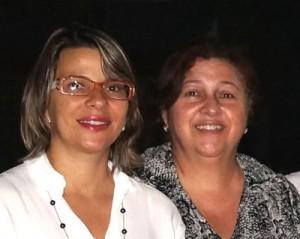 (Direita) Naia Cardoso Fontoura