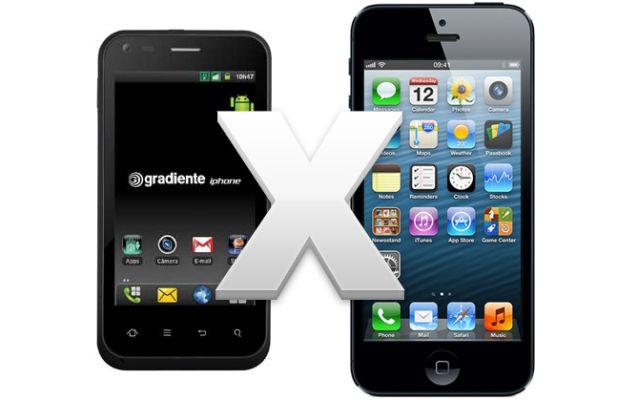 Gradiente Iphone x Apple Iphone