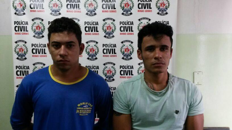 Suspeitos de cometerem o assassinato de Paulinho França