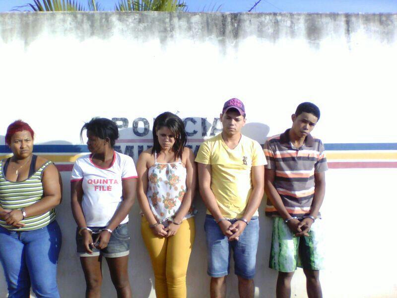 Seis foram presos