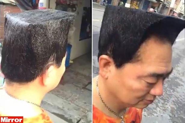 Homem adota novo estilo para parecer mais jovem e este é o resultado