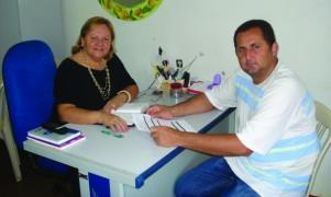 Iracilda Duarte e Roney Araújo