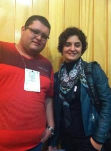 Luiz Fernando e Maria Pestana (Publicitária Friboi)