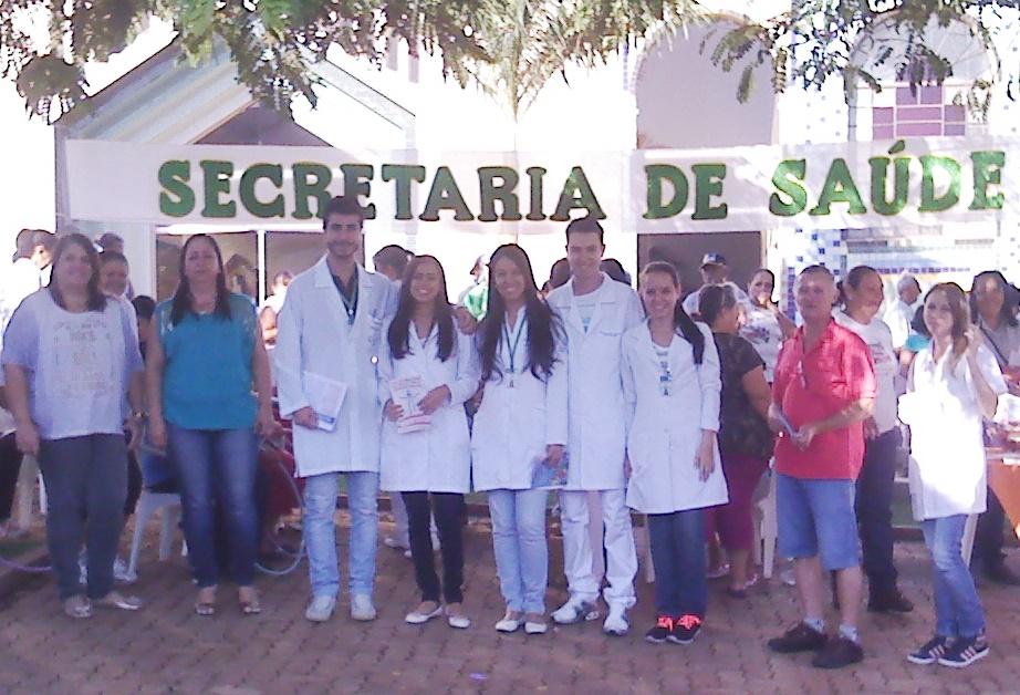 """Equipe da secretaria de saúde no """"Dia Nacional da Saúde"""""""
