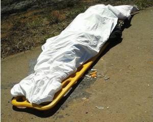 Mulher morreu no local / Foto: Patos Hoje -