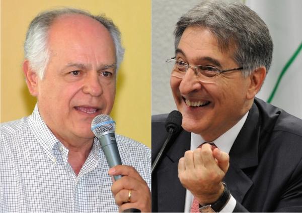 (esq) Pimenta da Veiga e Fernando Pimentel