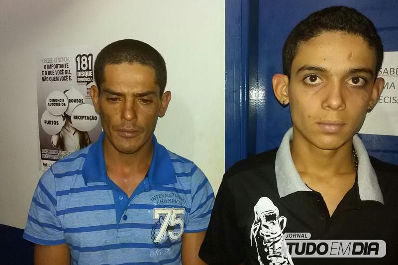 José Cleidiomar Ferreira, 34 anos | Patrick Alef Santana de Lima, 20 anos