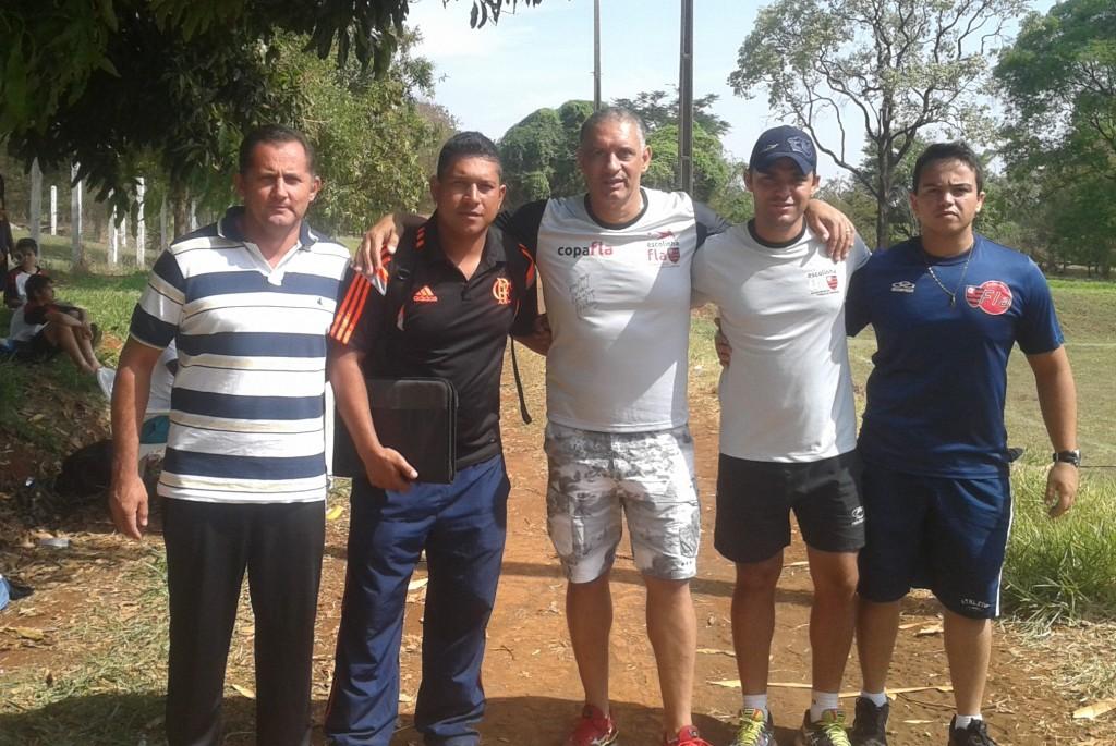 Projeto Amigos do Esporte tem reunião com comissão técnica da Escolinha do Flamengo