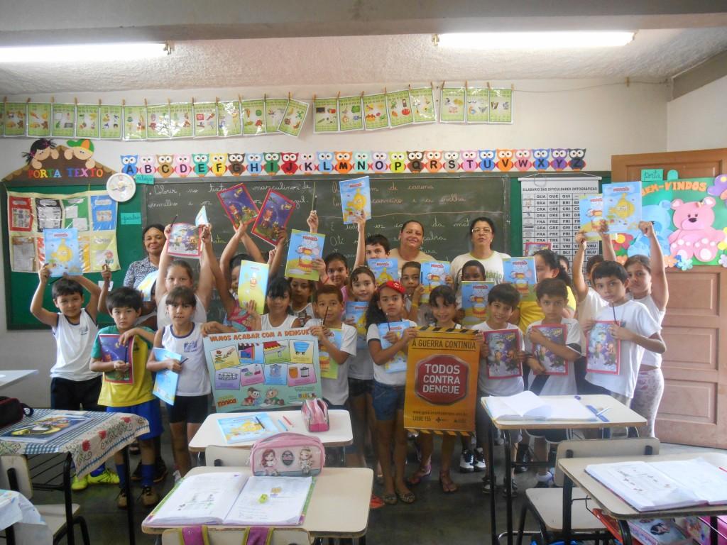 Ação nas escolas reforça combate à Dengue em Capinópolis