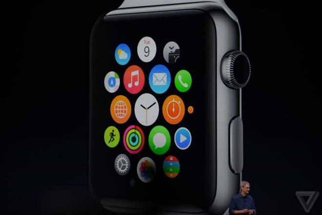 Apple Watch tem tela sensível ao toque