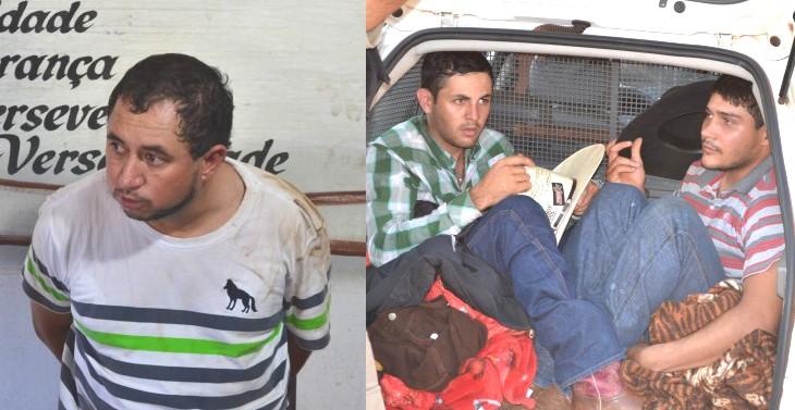 Polícia prende cowboys do tráfico com 12,6 kg de droga