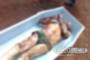 Idoso de 81 anos foi assassinado com crueldade