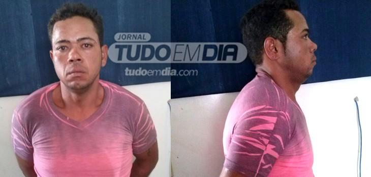 """Operação conjunta das Polícias Civil e Militar prende homem que assassinou """"Pé-de-pano"""" à facadas"""